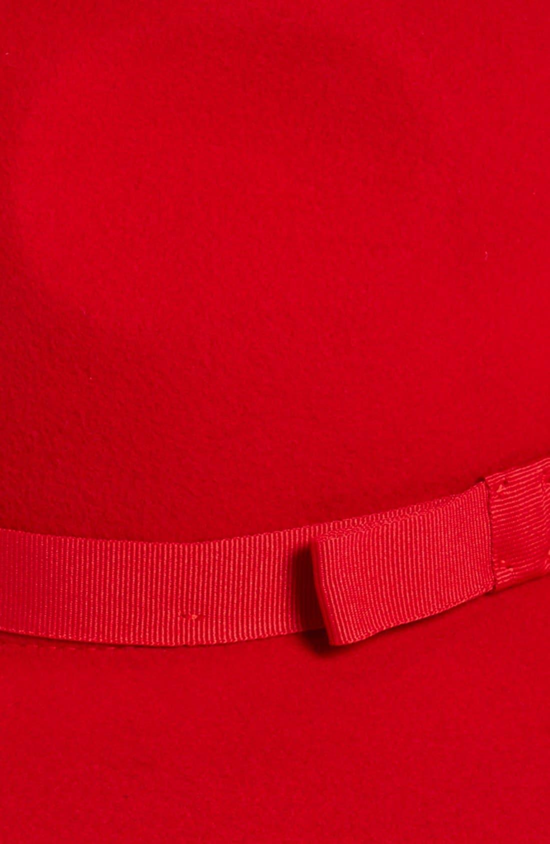 Alternate Image 2  - Brixton 'Dahlia' Floppy Brim Wool Hat