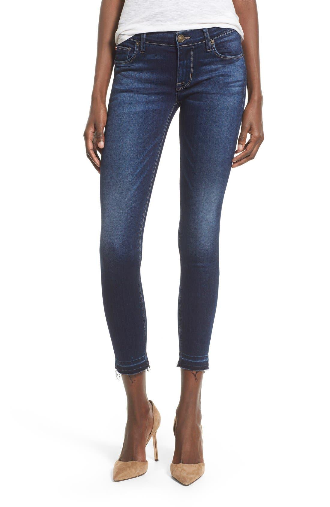 Main Image - Hudson Jeans 'Krista' Release Hem Jeans (Crest Falls)