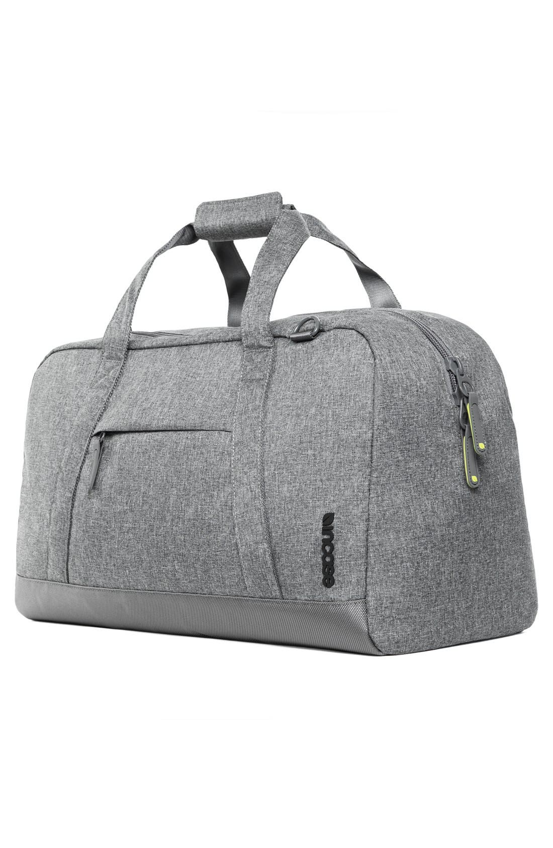 EO Duffel Bag,                             Alternate thumbnail 4, color,                             Heather Grey