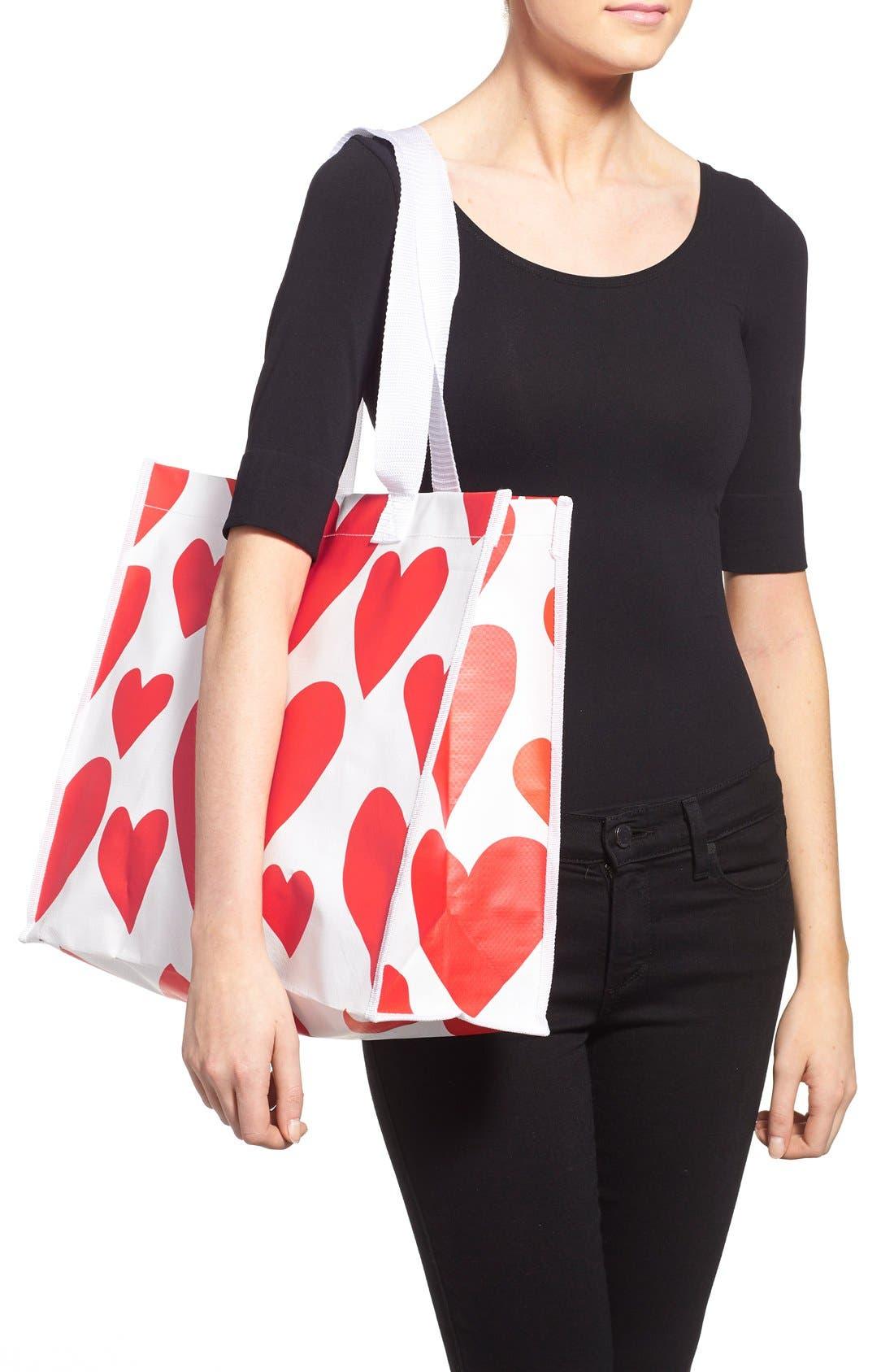 Alternate Image 2  - ban.do 'I Want It All - Extreme Hearts' Shopper