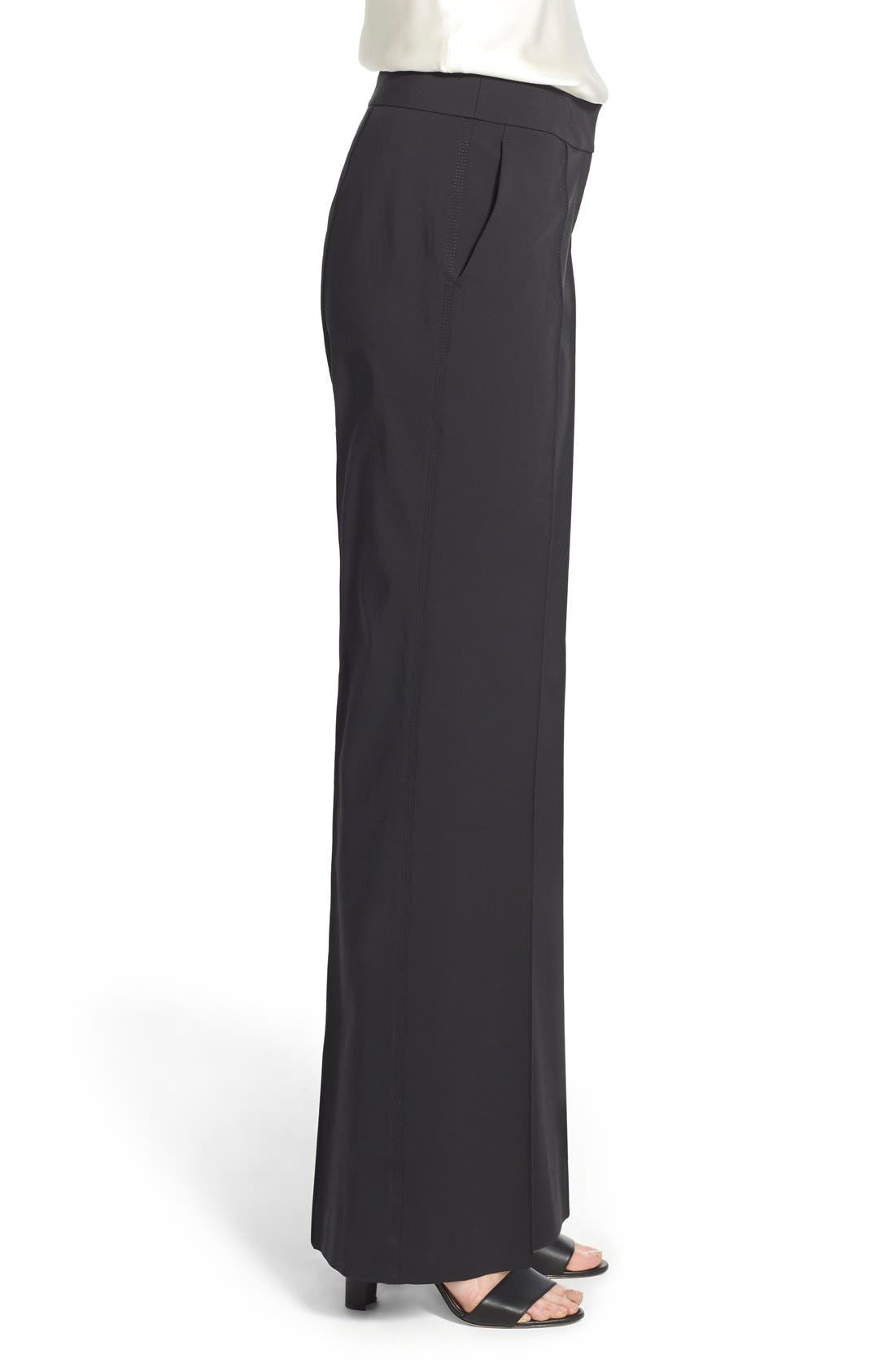 Alternate Image 4  - Lafayette 148 New York 'Kenmare' Flare Leg Pants