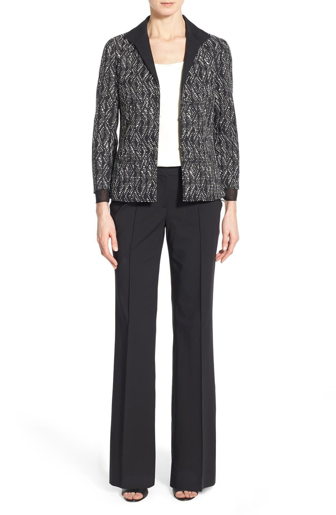 Alternate Image 2  - Lafayette 148 New York 'Kenmare' Flare Leg Pants