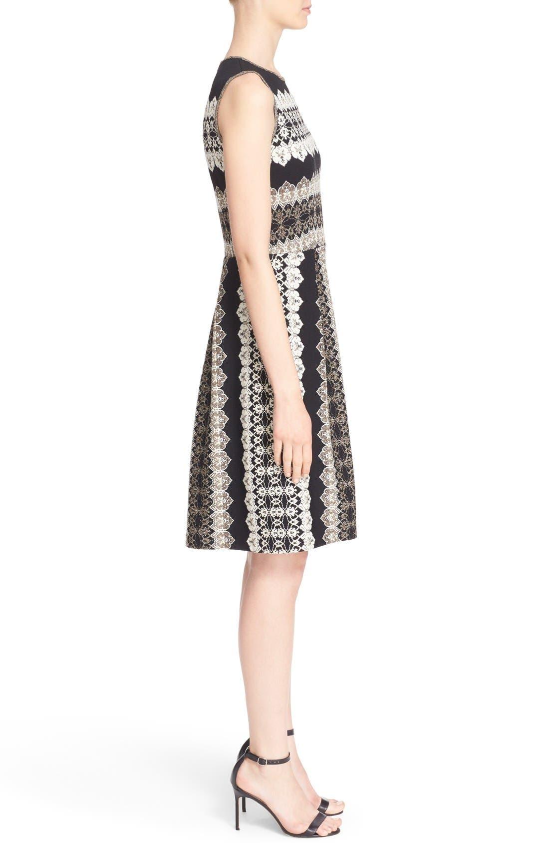 Alternate Image 5  - St. John Collection Jeweled Shimmer Knit Dress