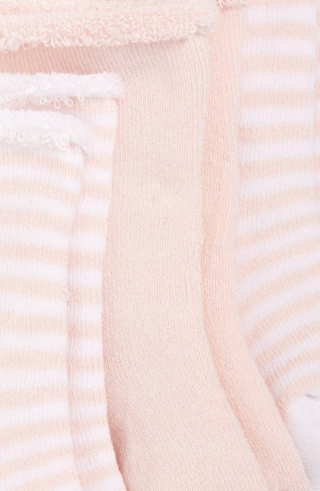 Alternate Image 2  - Nordstrom Baby 3-Pack Crew Socks (Baby)