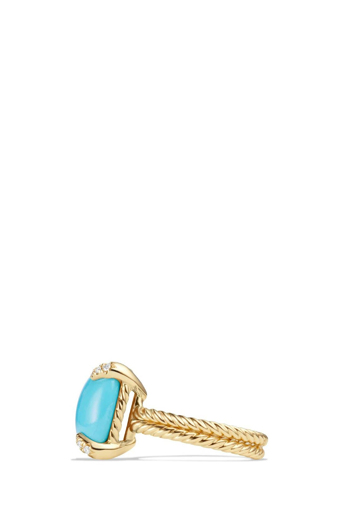 Alternate Image 4  - David Yurman 'Chatelaine' Ring with Diamonds