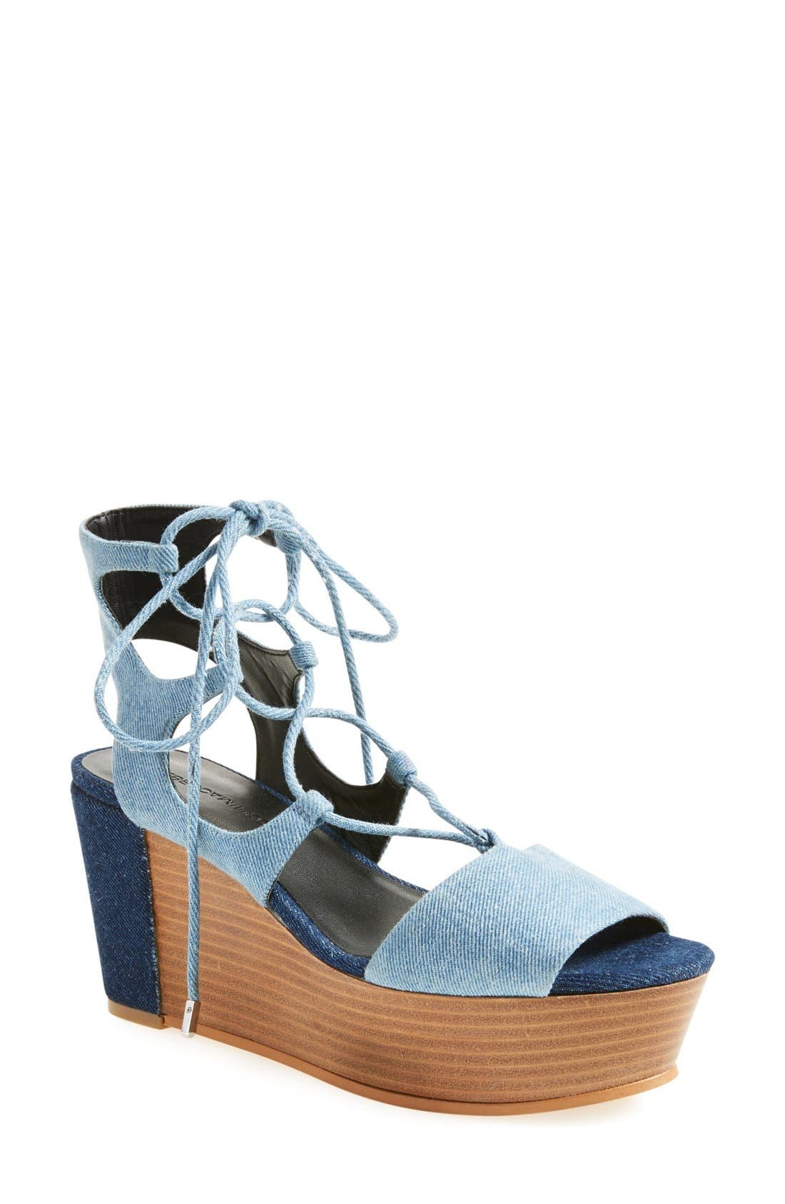 Alternate Image 1 Selected - Rebecca Minkoff Cady Wedge Sandal (Women)