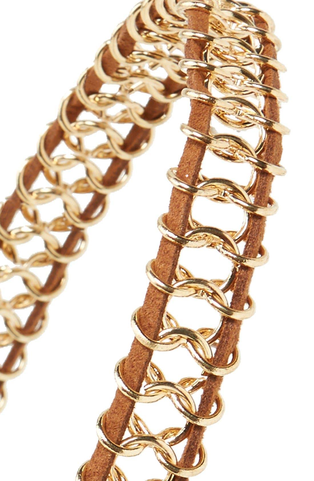 Alternate Image 2  - Berry Chain Link Head Wrap