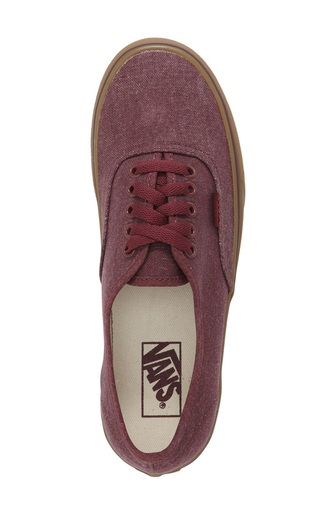 Alternate Image 3  - Vans 'Authentic' Sneaker (Men)