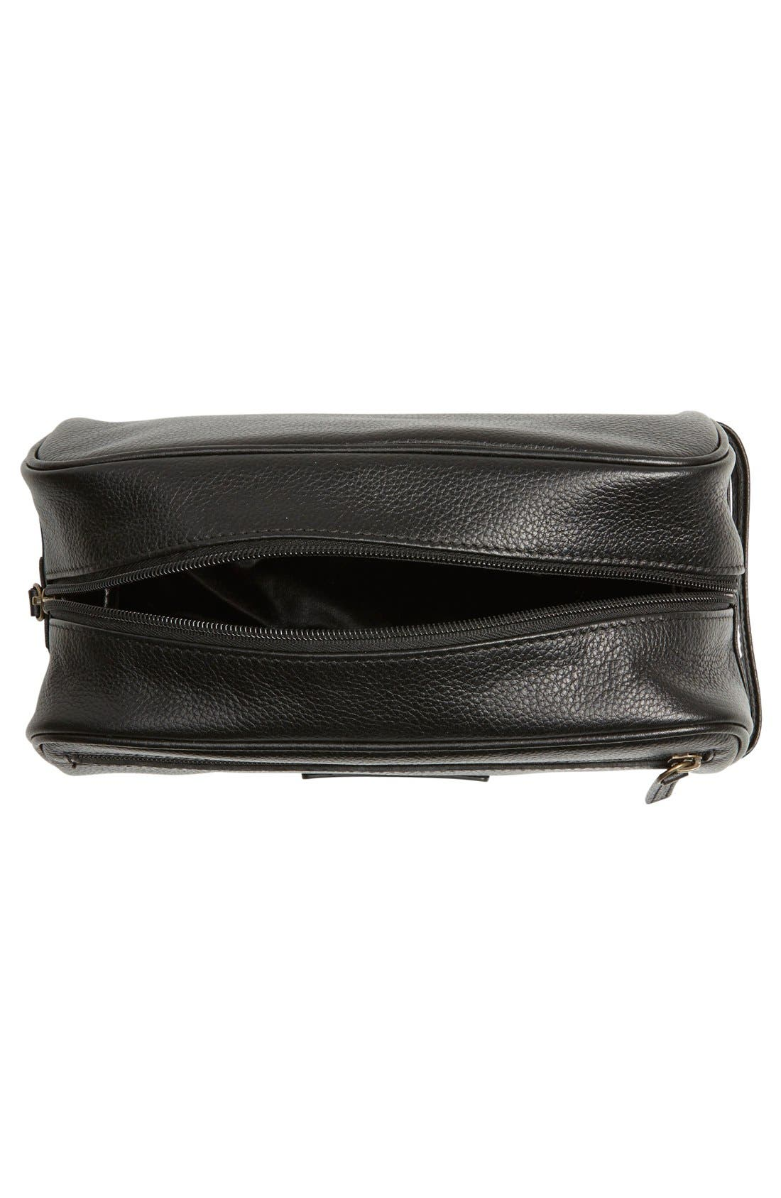 Alternate Image 3  - Barbour Leather Travel Kit