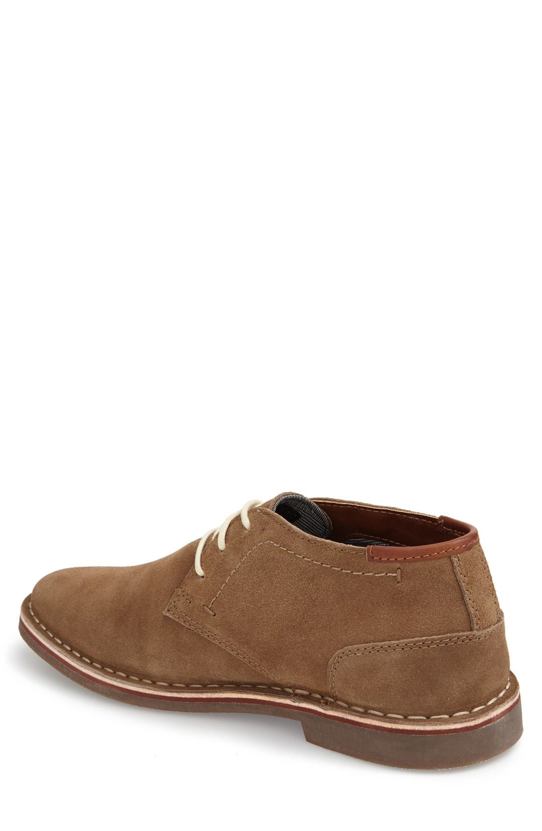 'Desert Sun' Chukka Boot,                             Alternate thumbnail 2, color,                             Taupe Suede
