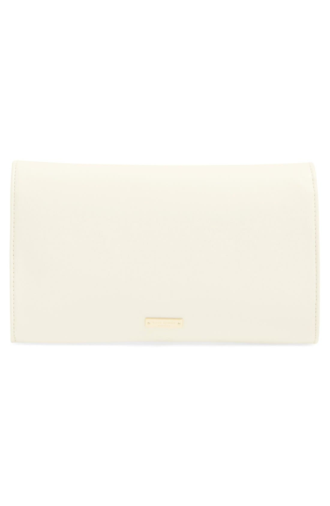 Alternate Image 3  - kate spade new york leather clutch