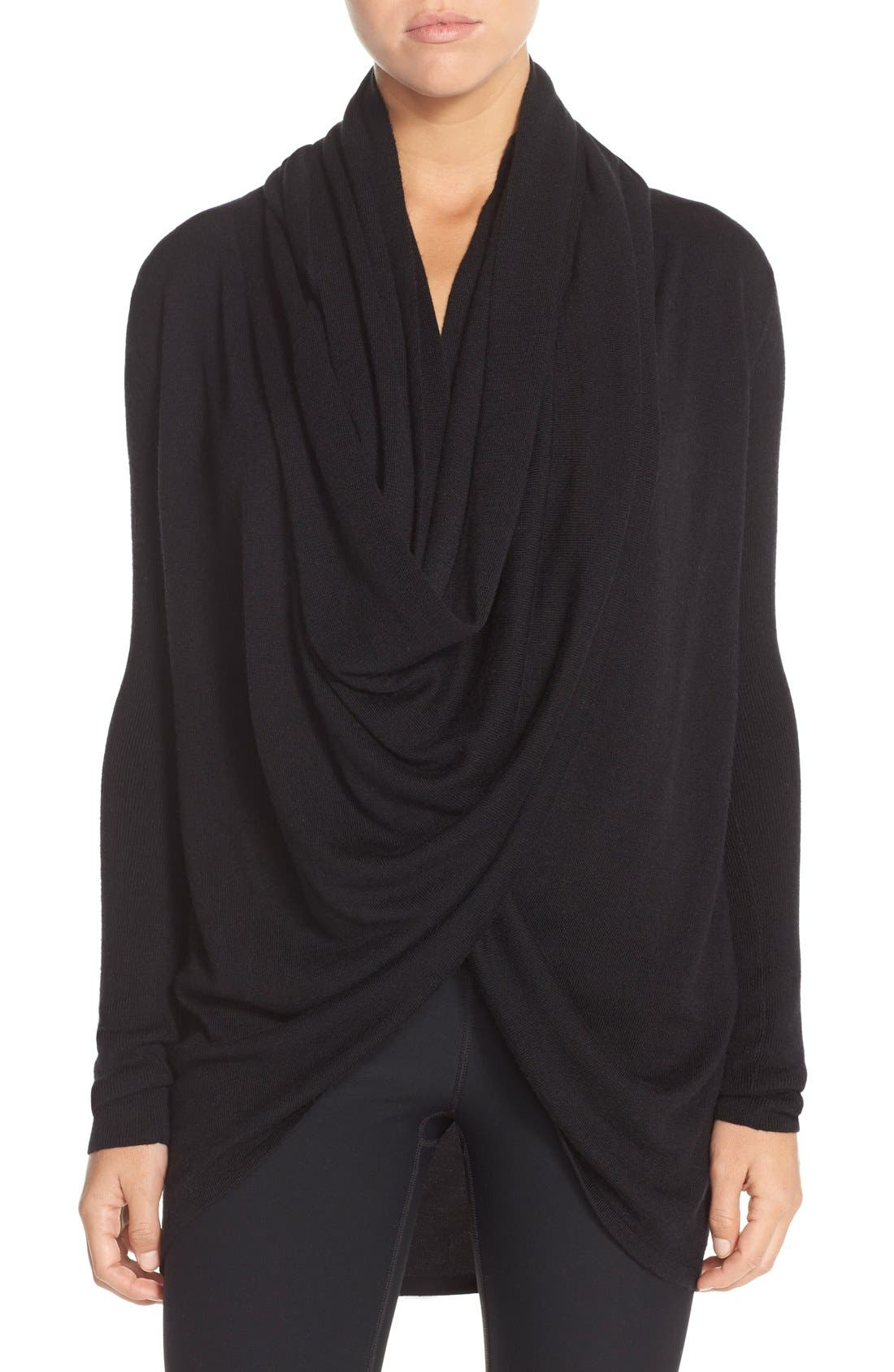 Main Image - Nordstrom Lingerie Long Wrap Cardigan