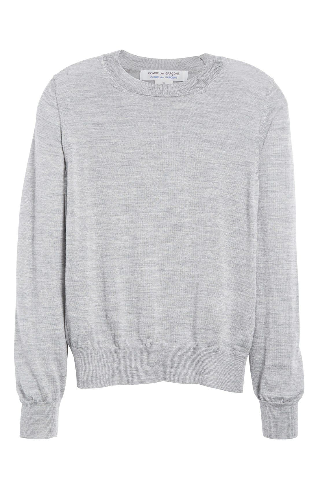 Alternate Image 4  - Comme des Garçons Crewneck Wool Pullover