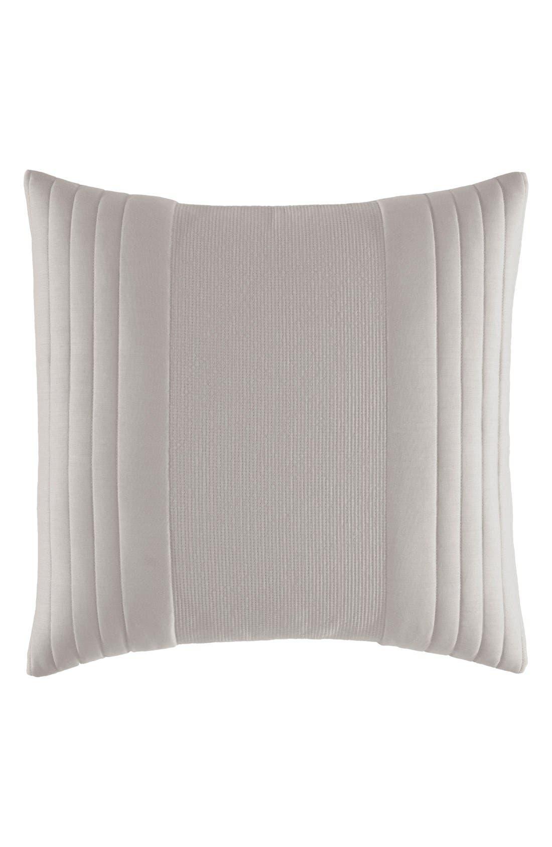 Texture Stripe Pillow,                             Main thumbnail 1, color,                             Grey Putty