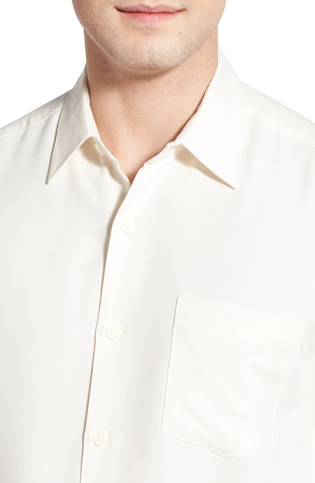 'Wind N Sea' Regular Fit Sport Shirt,                             Alternate thumbnail 4, color,                             Off White