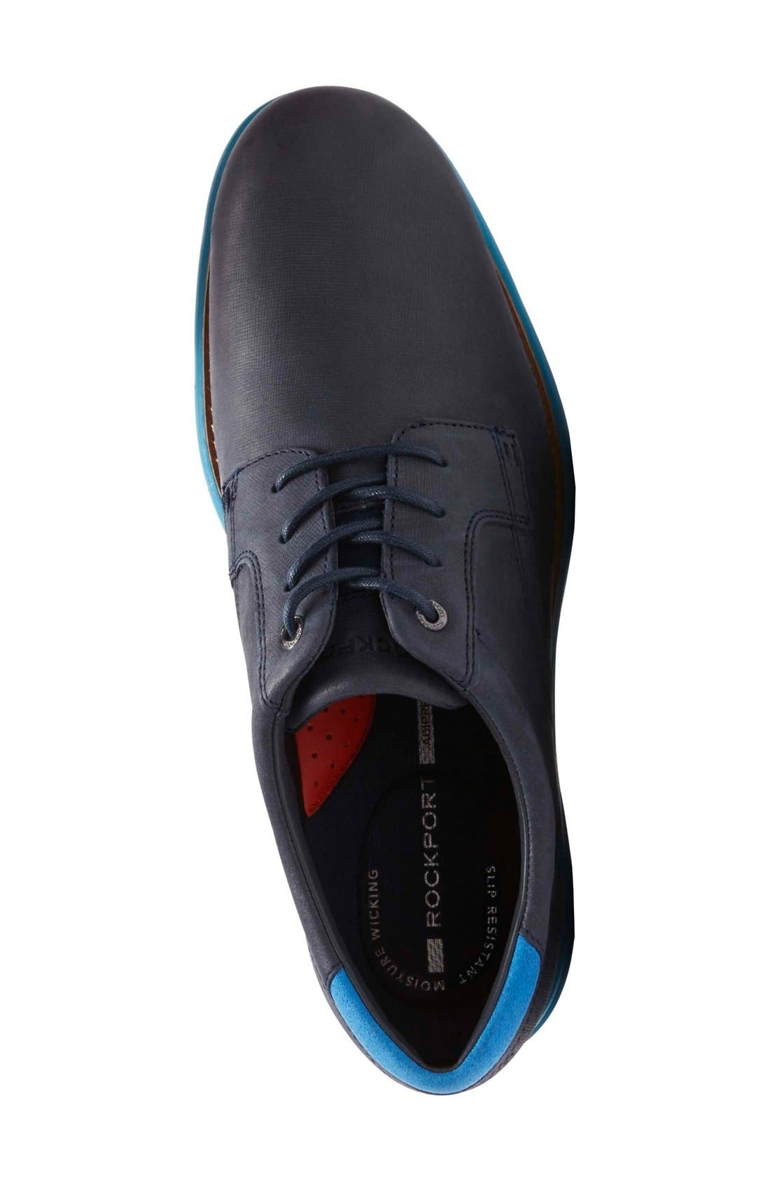 Alternate Image 3  - Rockport Total Motion Fusion Plain Toe Derby (Men)
