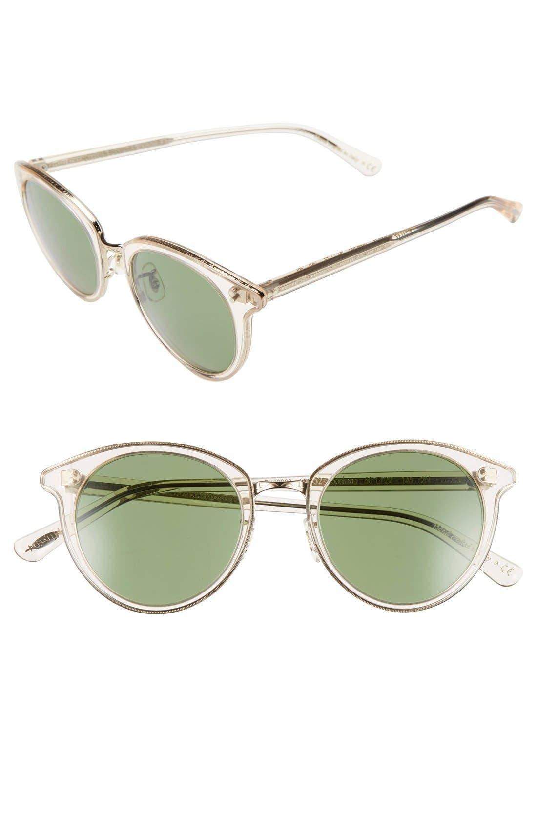 Oliver Peoples 'Spelman' 50mm Retro Sunglasses