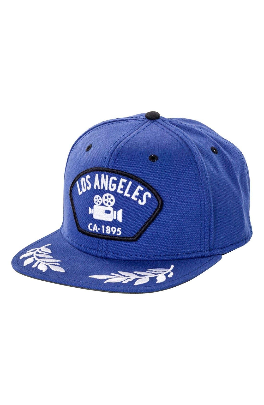 'Los Angeles' Baseball Cap,                         Main,                         color, Blue