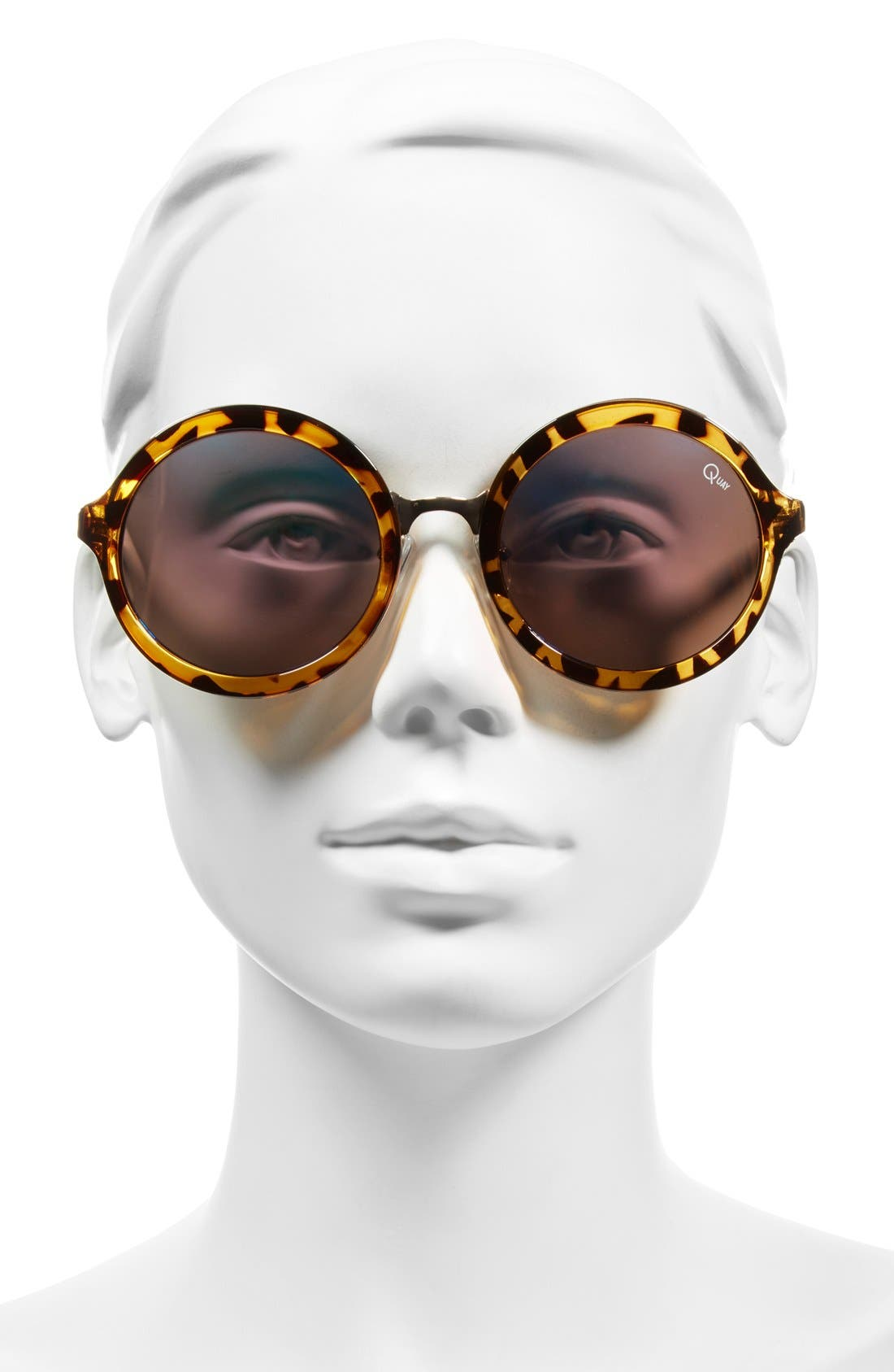 Alternate Image 2  - Quay Australia 'Smoke & Mirrors' 52mm Sunglasses