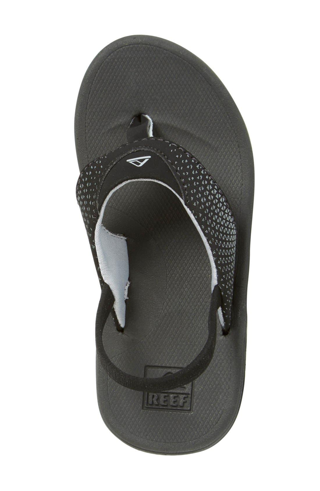 'Grom Rover' Water Friendly Sandal,                             Alternate thumbnail 3, color,                             Black