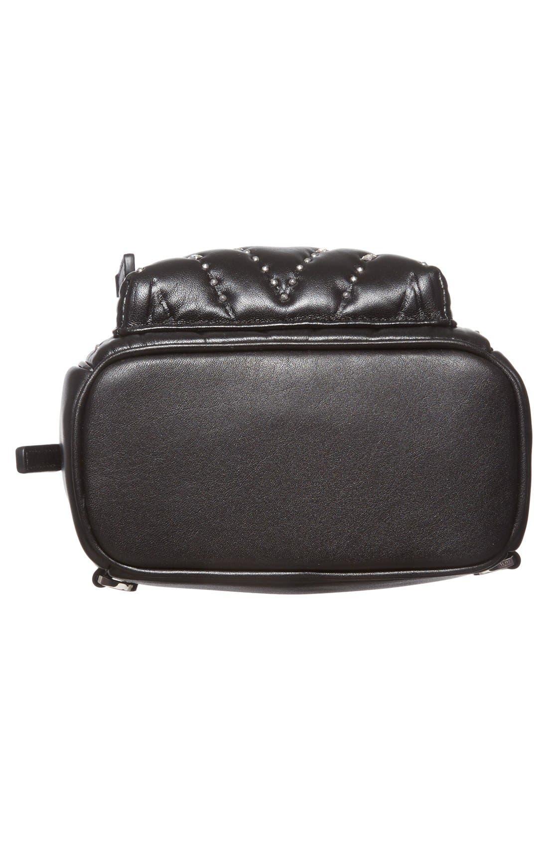 Alternate Image 6  - MCM 'X Mini Diamond Disco' Leather Backpack