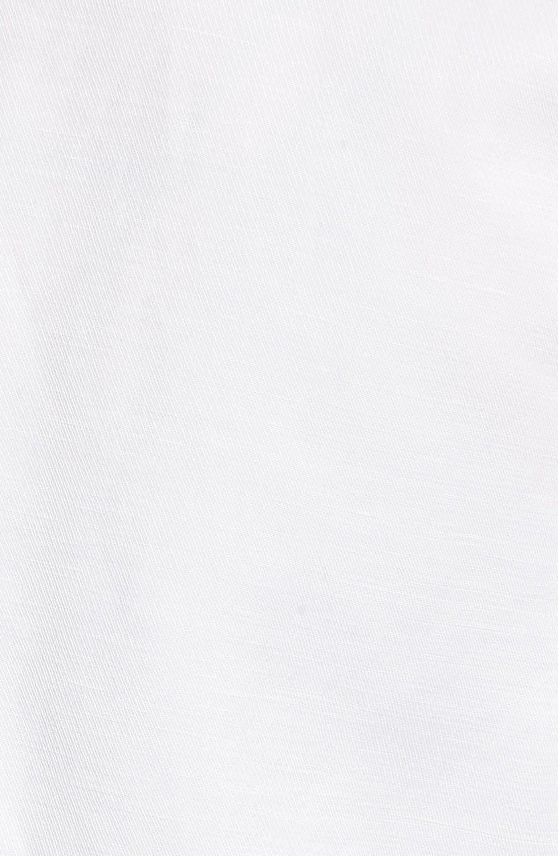 Alternate Image 5  - cupcakes and cashmere 'Lillian' Open Front Linen Blend Blazer