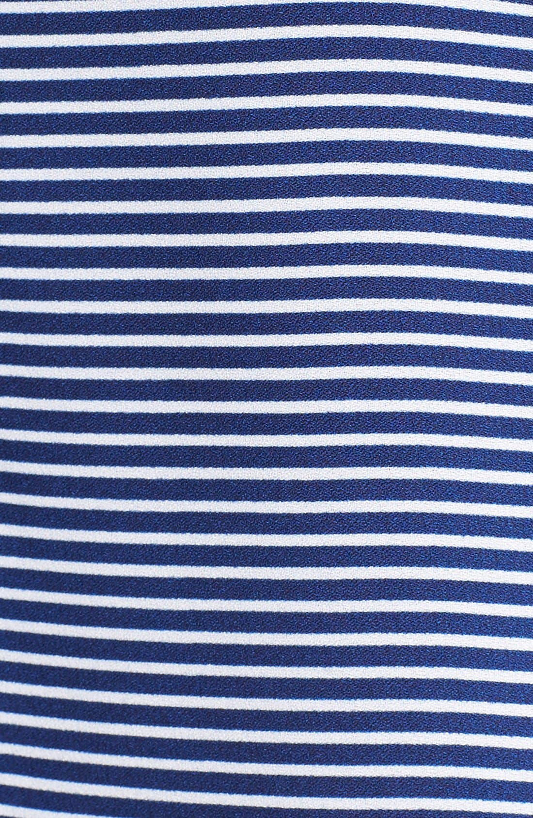 Stripe Woven Camisole,                             Alternate thumbnail 5, color,                             Navy Evening Callington Stripe