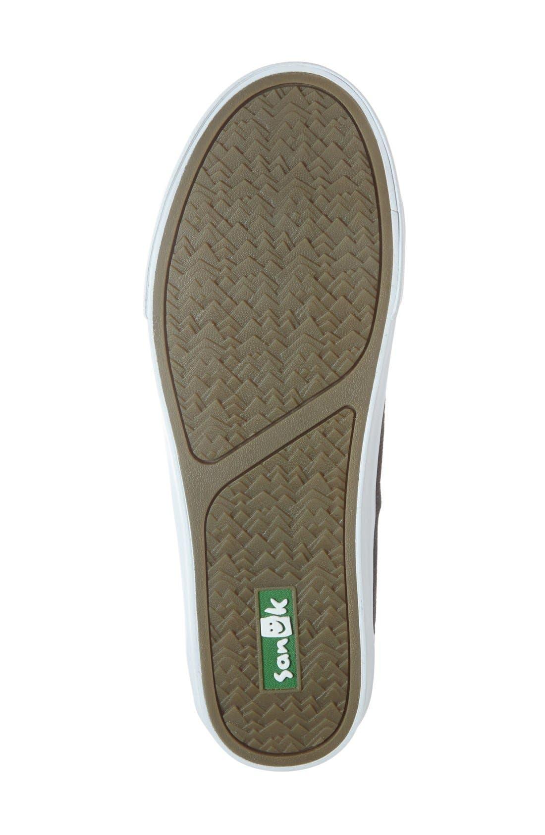 Alternate Image 4  - Sanuk 'Staple' Sneaker (Men)