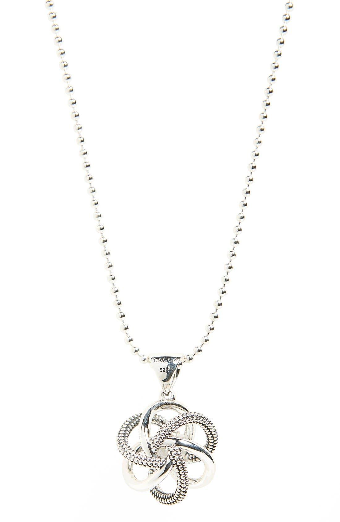 Alternate Image 3  - LAGOS 'Love Knot' Long Pendant Necklace