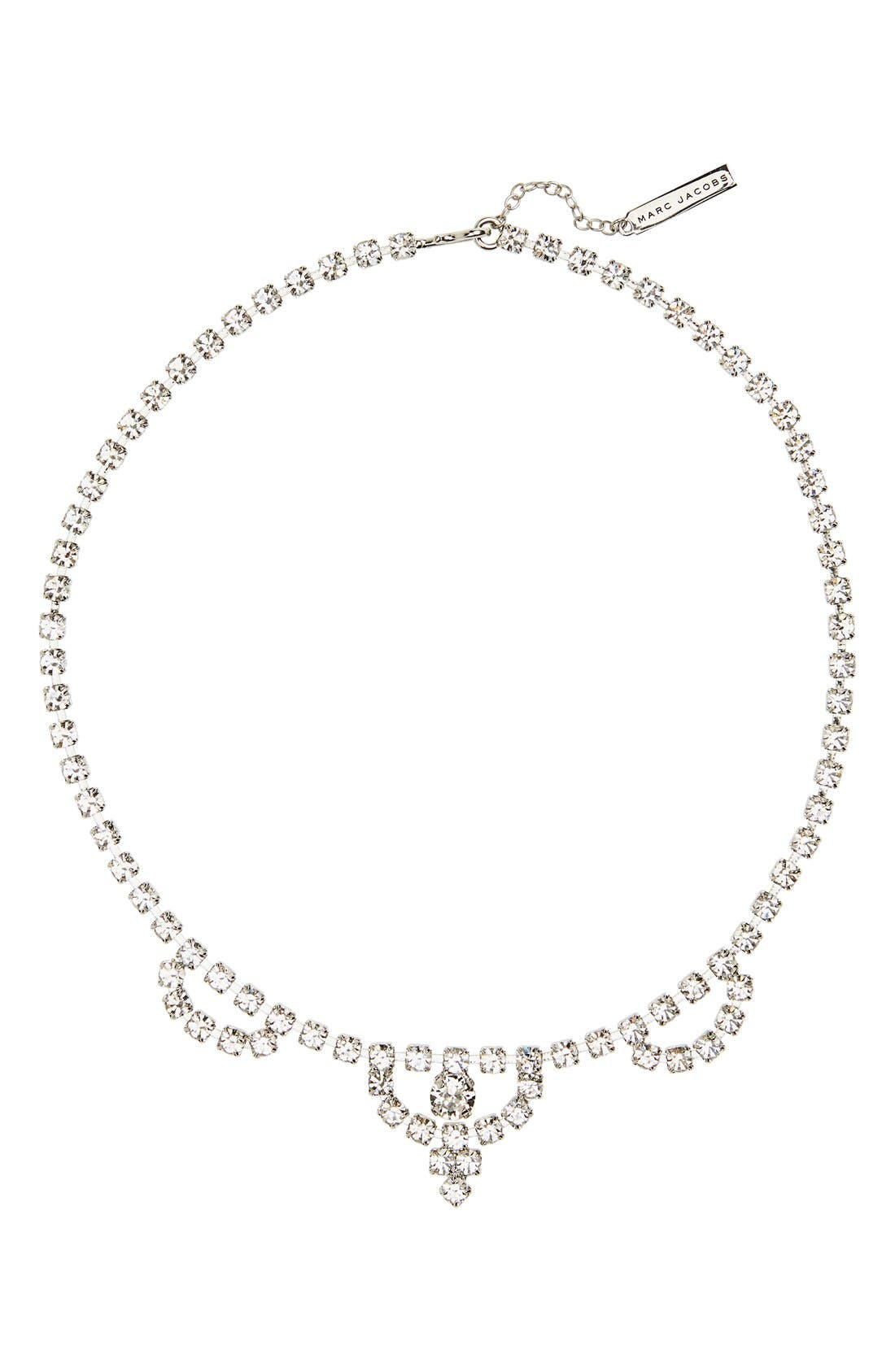 Main Image - MARC JACOBS Crystal Bib Necklace