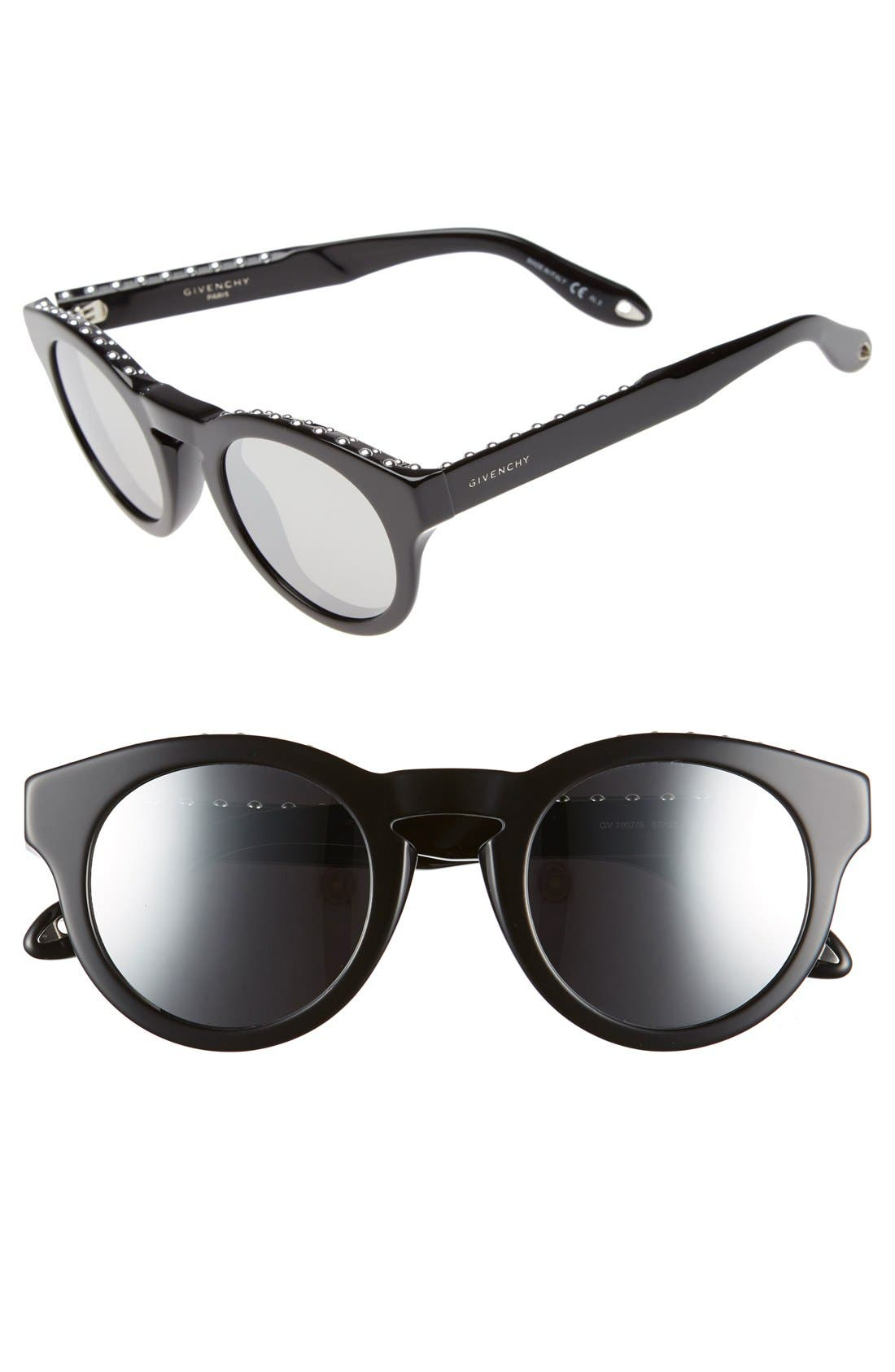 Alternate Image 1 Selected - Givenchy 48mm Round Sunglasses