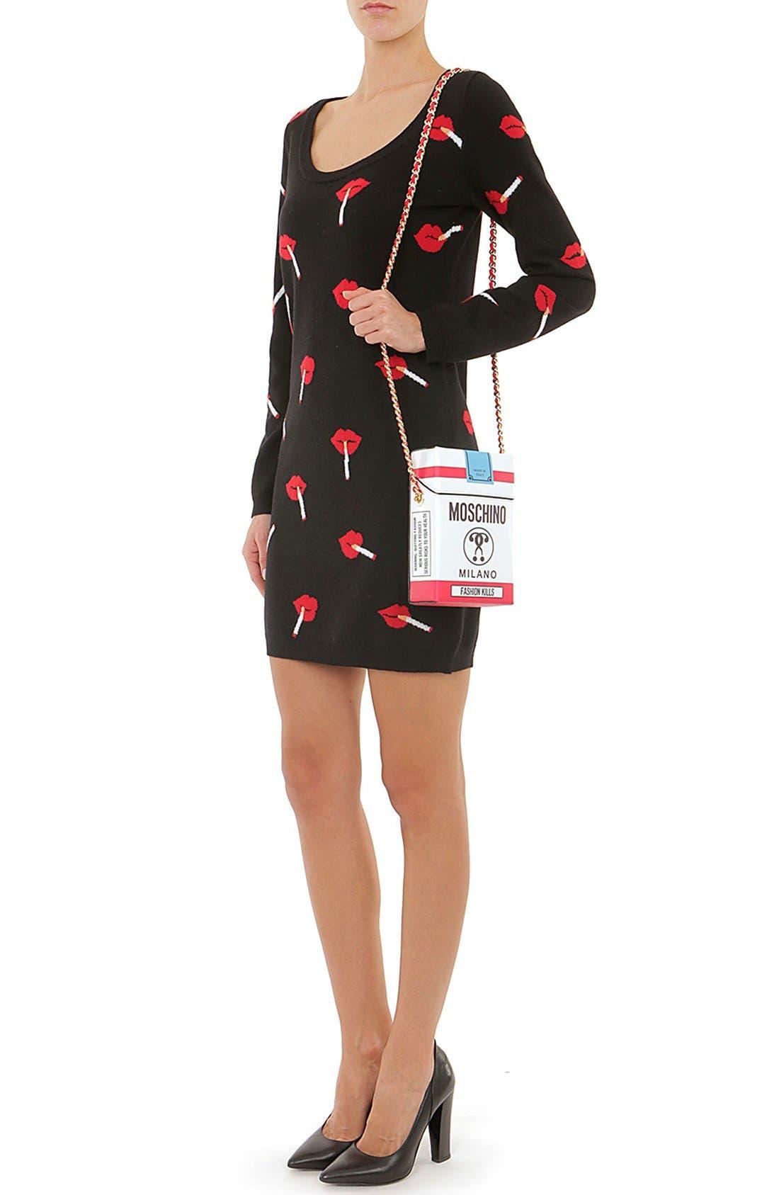 Alternate Image 2  - Moschino 'Fashion Kills' Crossbody Bag