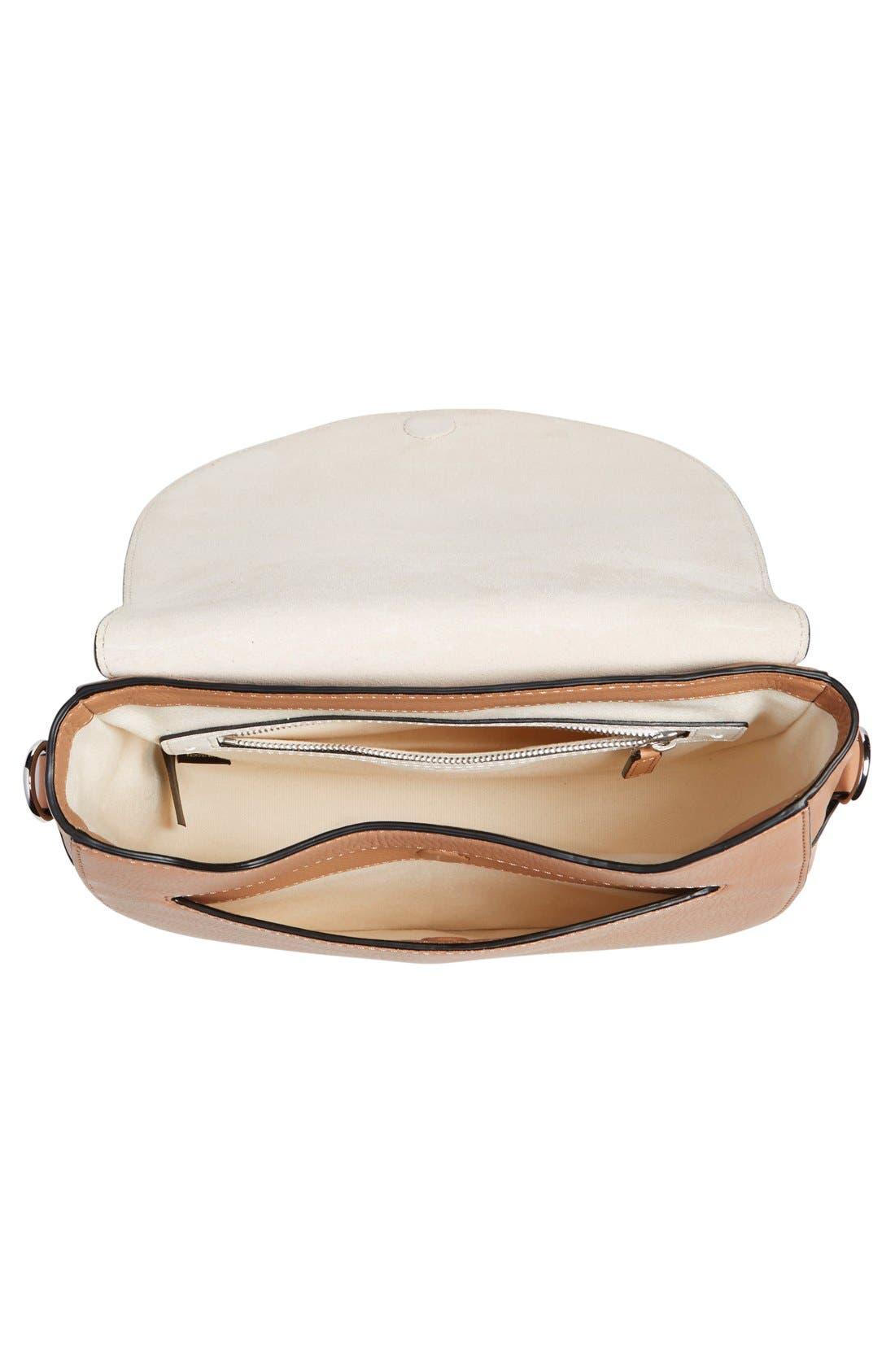 Alternate Image 3  - rag & bone 'Flight' Leather Crossbody Saddle Bag