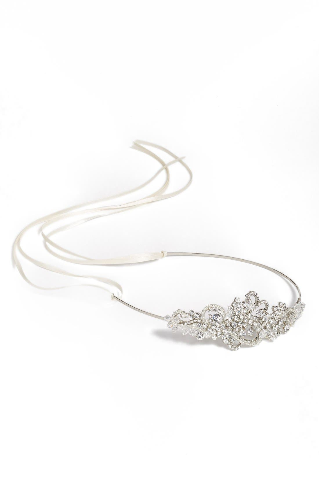 Alternate Image 1 Selected - Brides & Hairpins 'Aphrodite' Jeweled Head Band