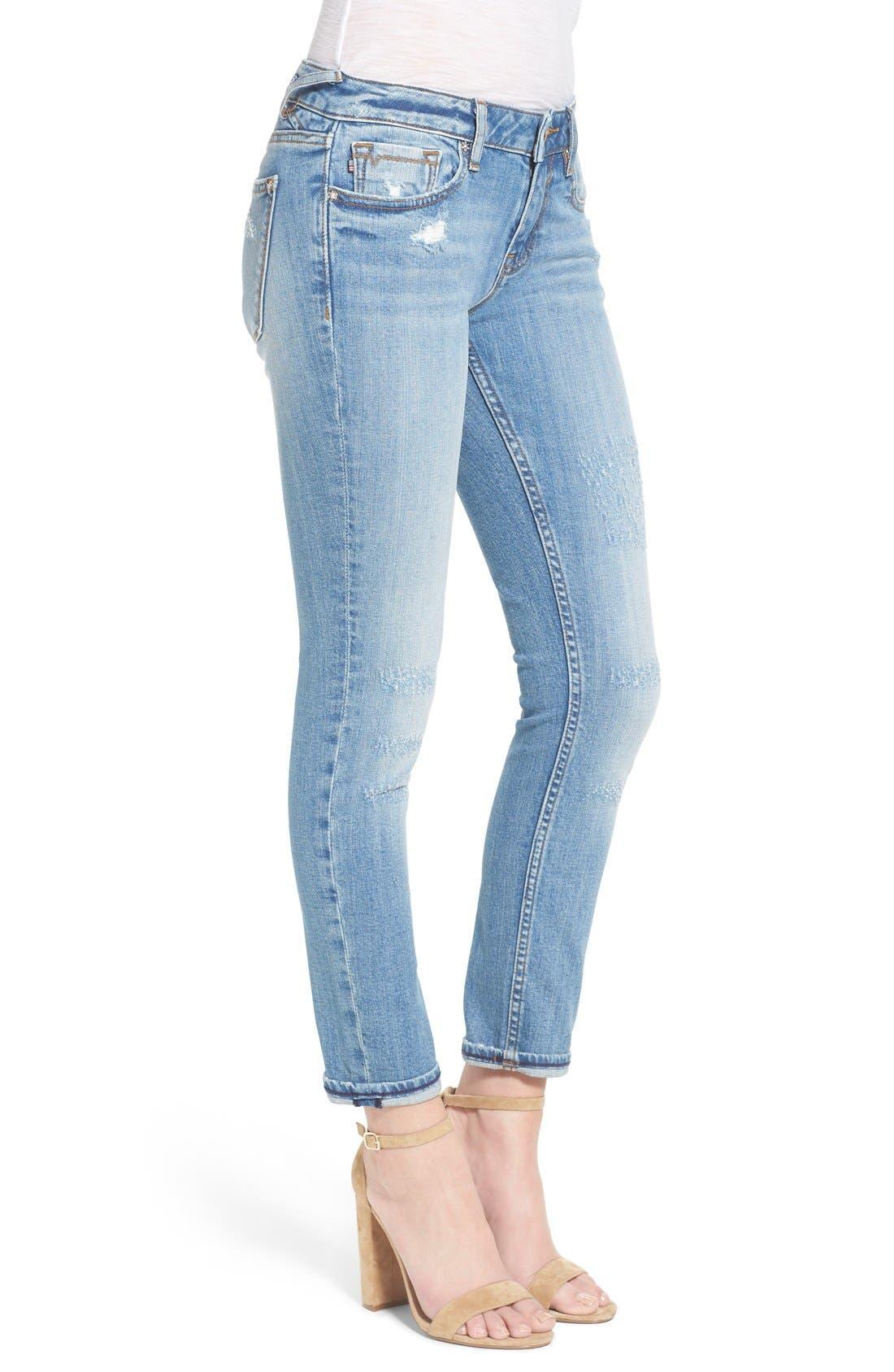 Alternate Image 3  - Vigoss 'Tomboy 'Thompson' Distressed Boyfriend Jeans