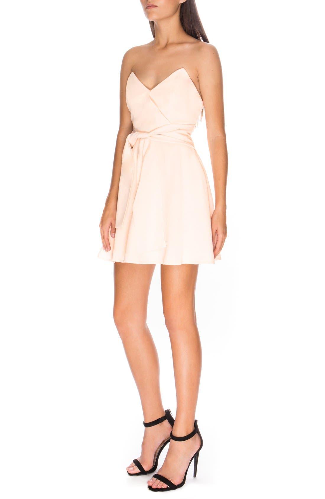Alternate Image 3  - Keepsake the Label 'Get Free' Strapless Minidress