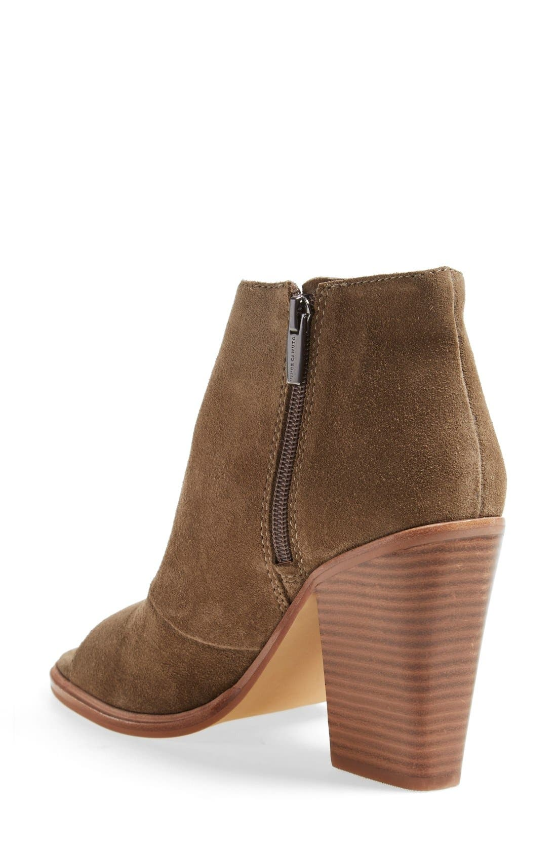 Alternate Image 2  - Vince Camuto 'Katleen' Peep Toe Bootie (Women) (Nordstrom Exclusive)