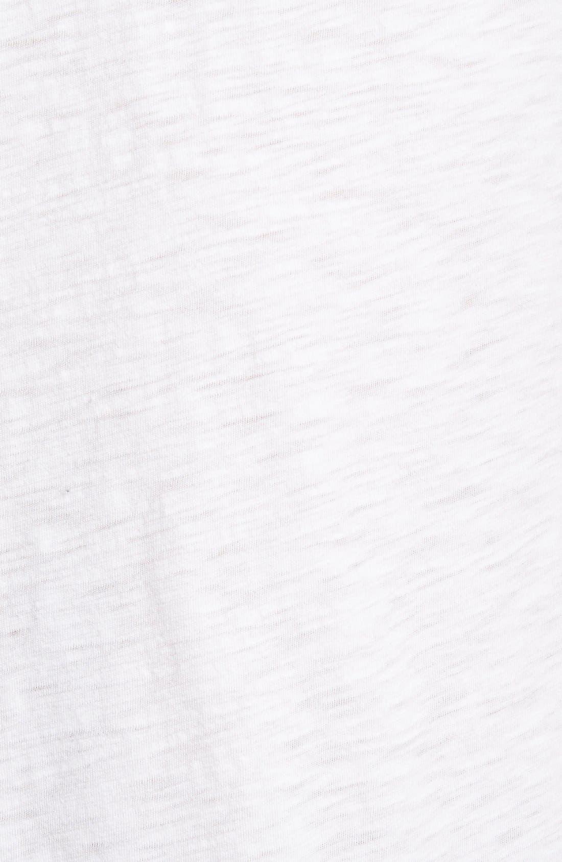 Slub Cotton Polo,                             Alternate thumbnail 5, color,                             White
