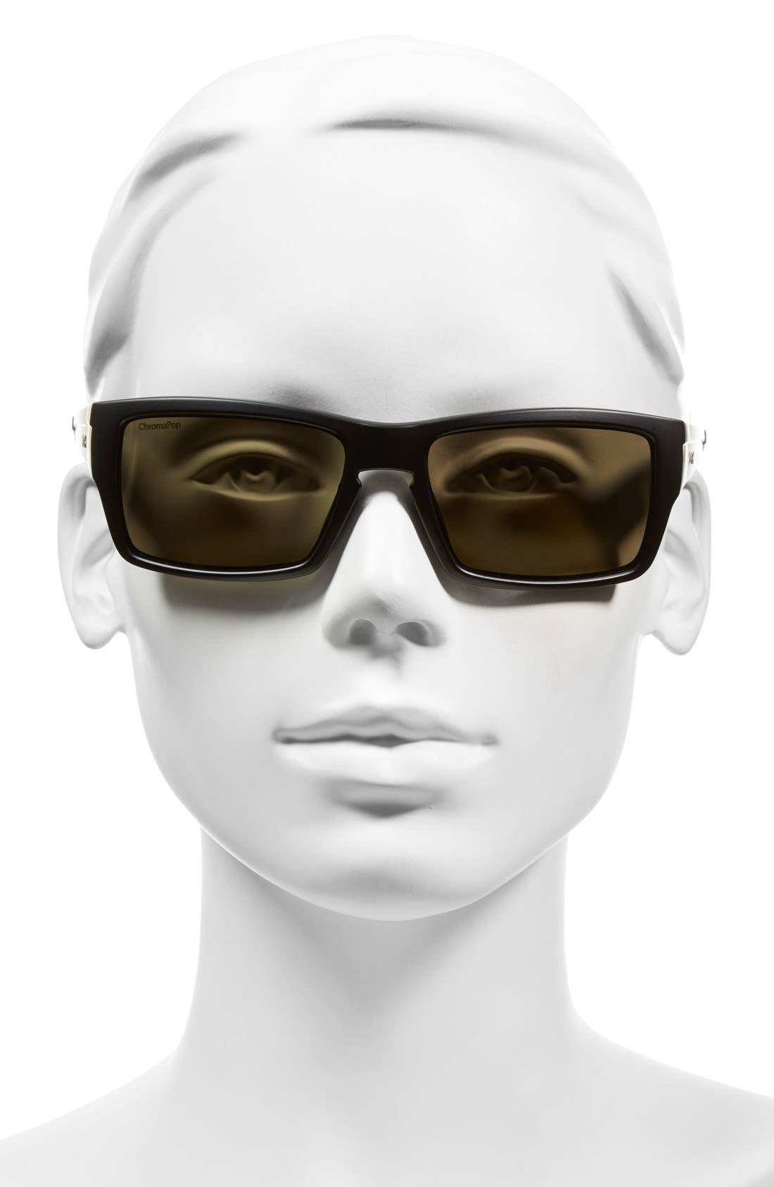Alternate Image 2  - Smith 'Outlier' 56mm Polarized Sunglasses