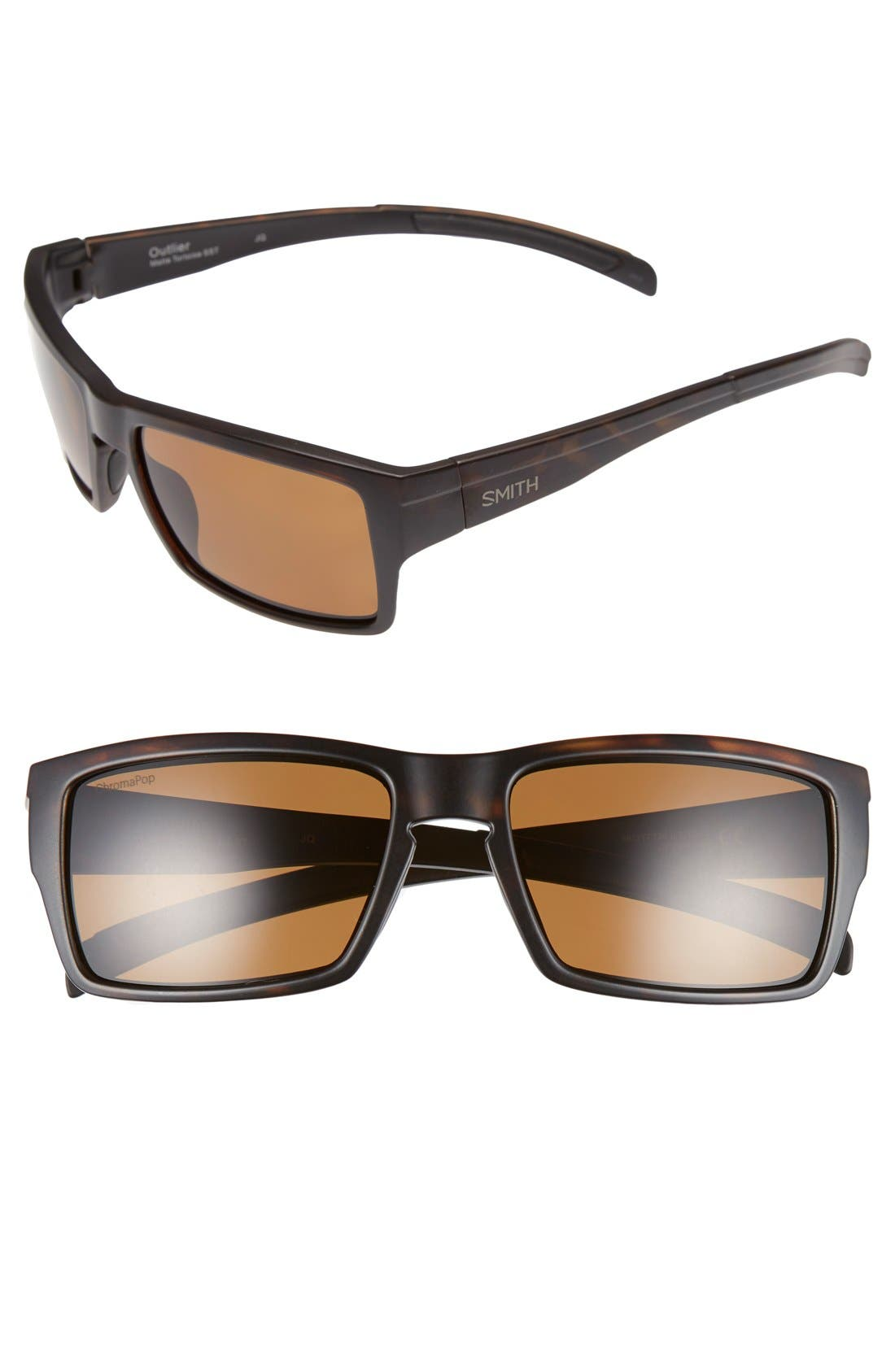 Main Image - Smith 'Outlier' 56mm Polarized Sunglasses