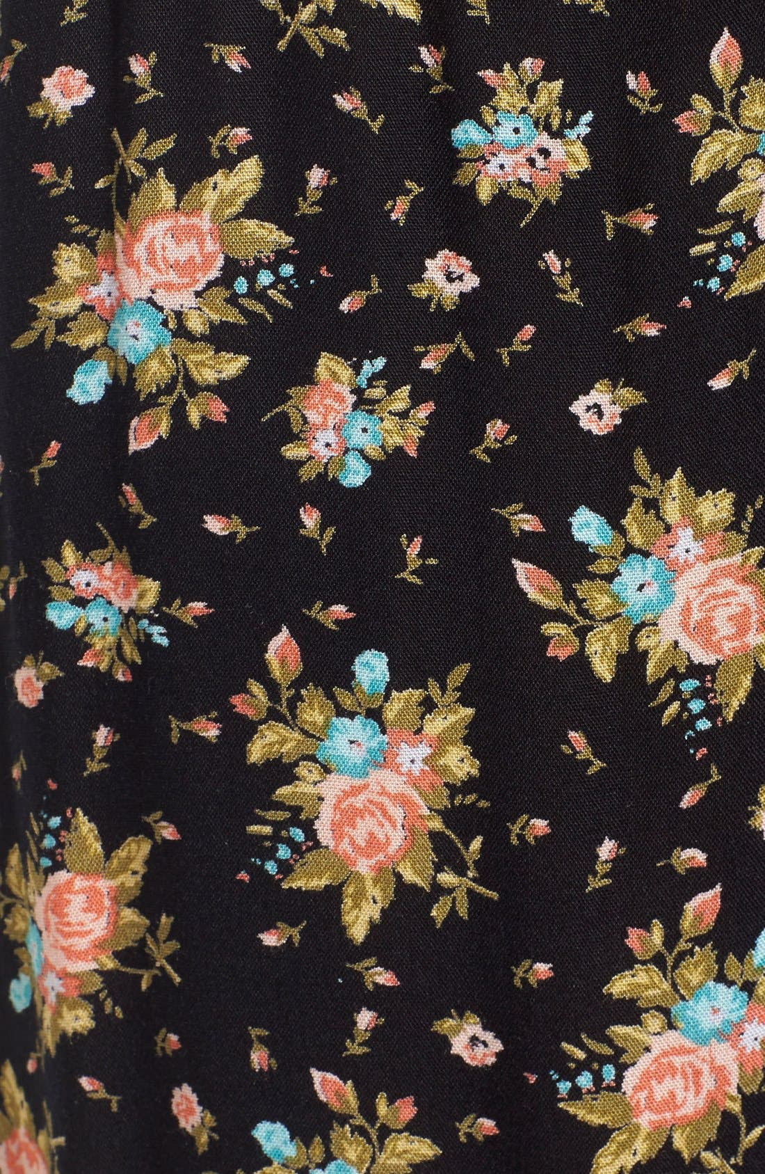 Alternate Image 5  - Volcom 'Rough Edges' Floral Print Pants