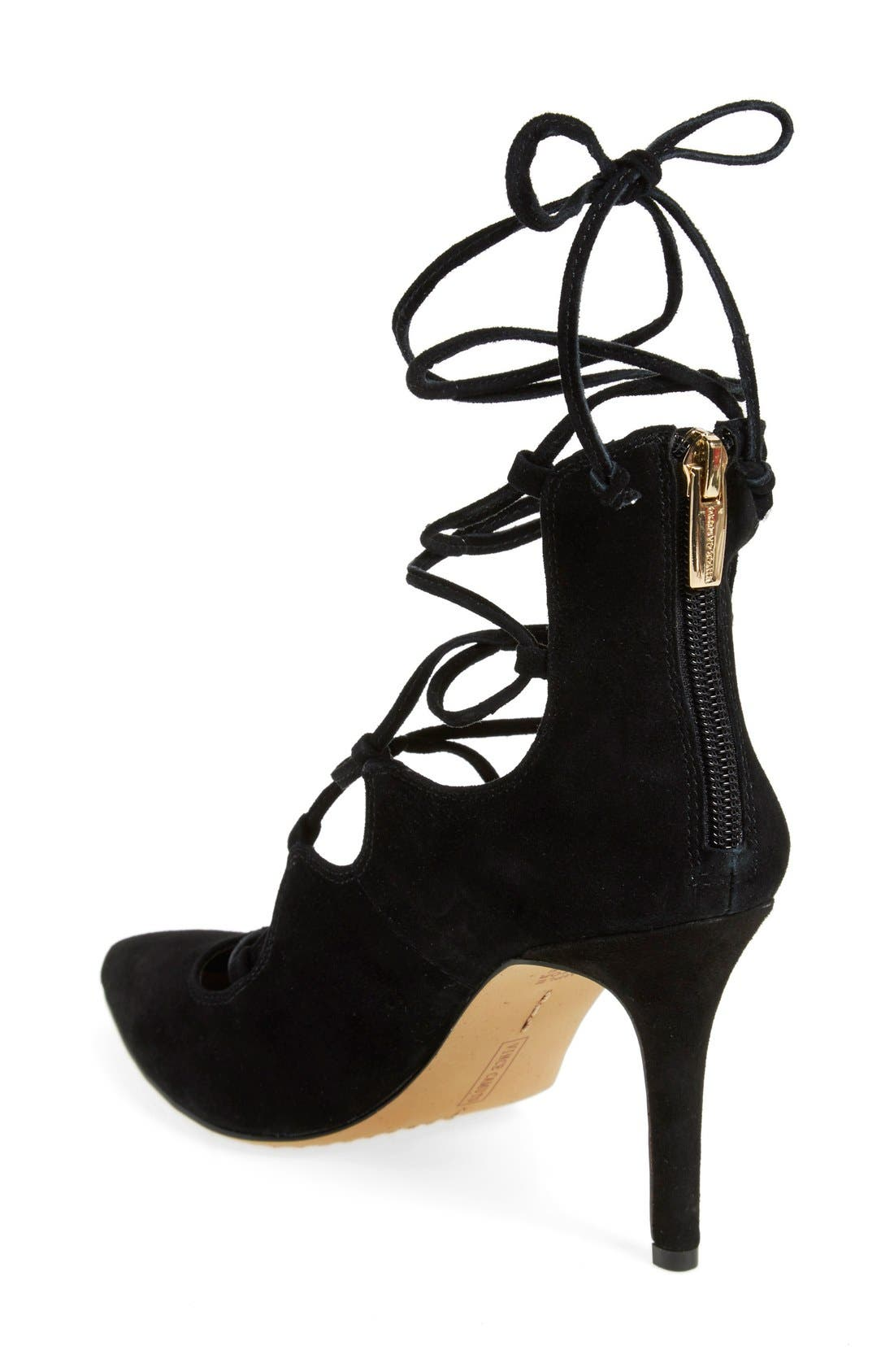 Alternate Image 2  - Vince Camuto 'Barsha' Lace-up Pump (Women) (Nordstrom Exclusive)