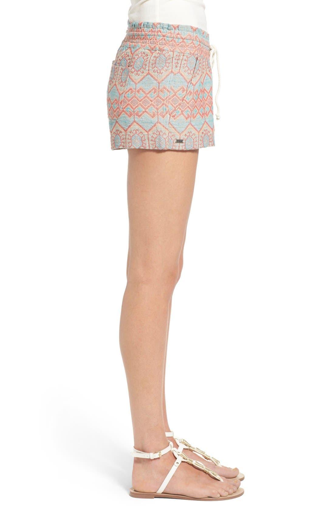 Alternate Image 3  - Roxy 'Oceanside' Jacquard Shorts