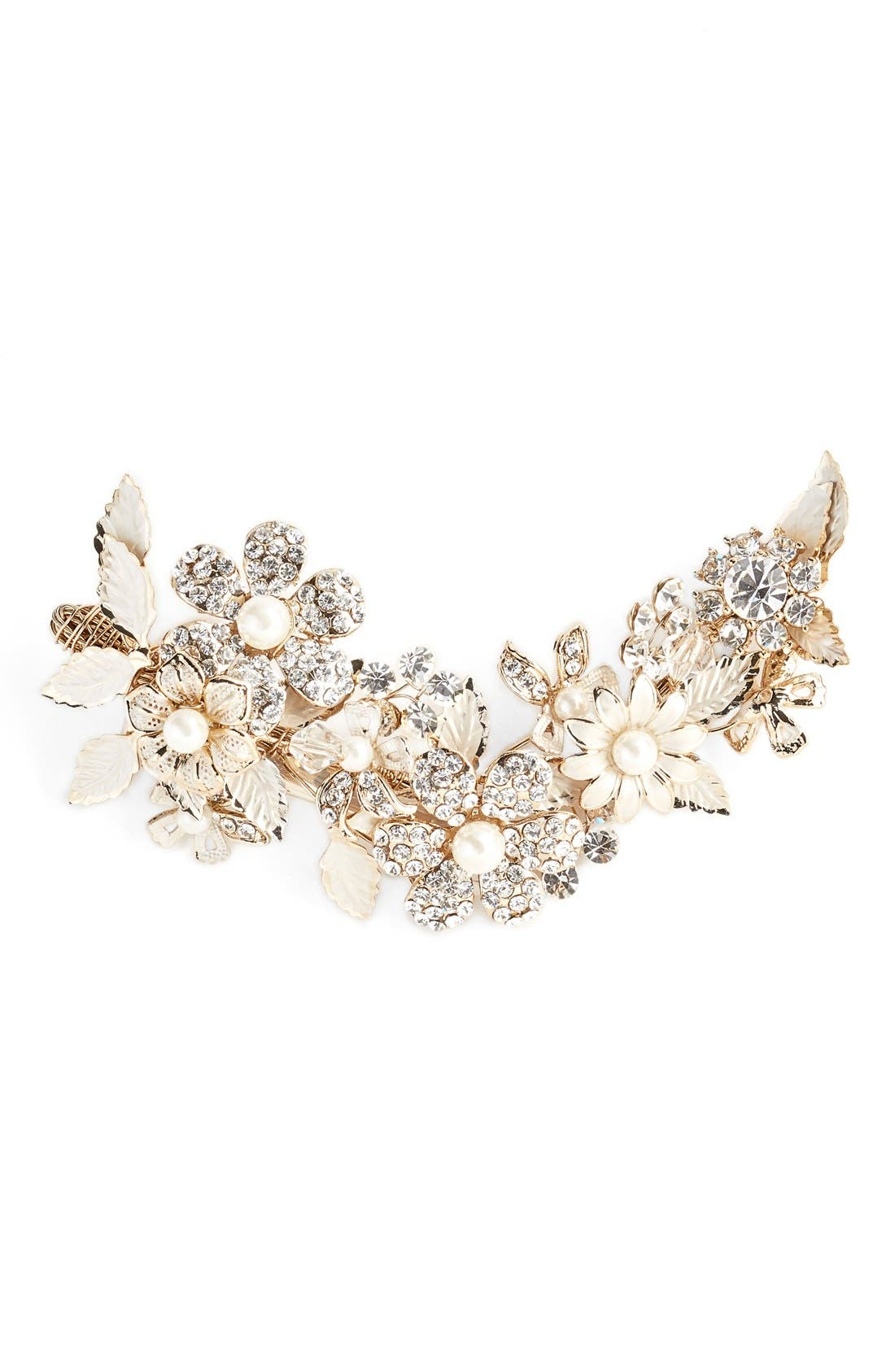 Alternate Image 1 Selected - Wedding Belles New York 'Mary Beth' Hair Comb