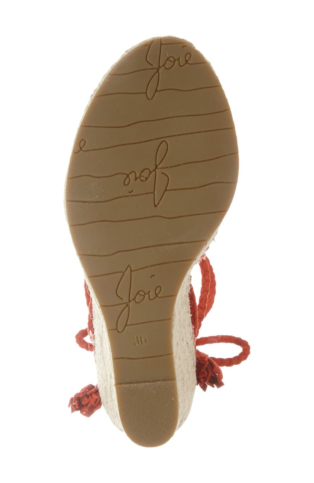 Alternate Image 4  - Joie 'Phyllis' Espadrille Wedge (Women)