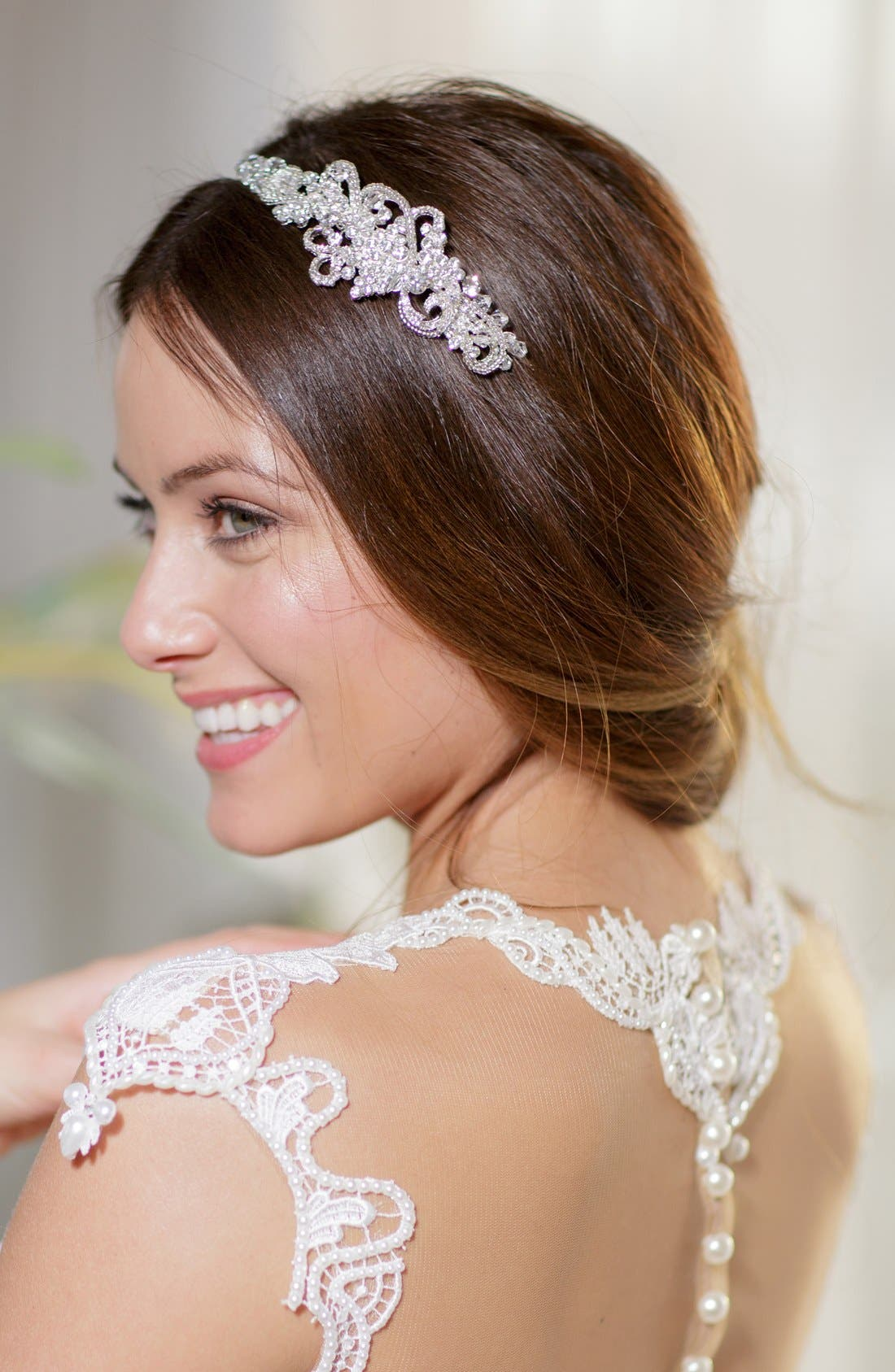 Alternate Image 5  - Brides & Hairpins 'Aphrodite' Jeweled Head Band