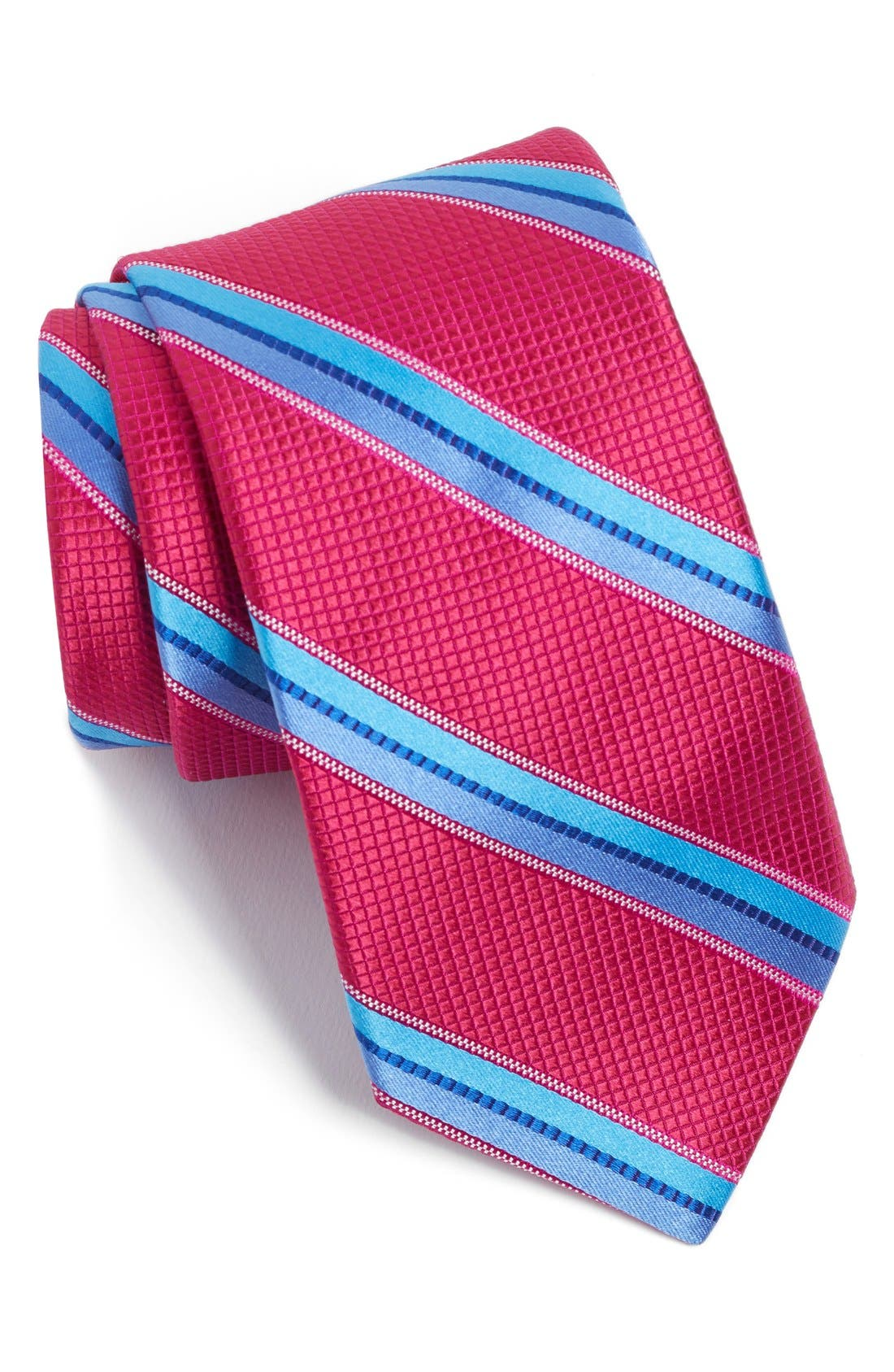 TED BAKER LONDON Stripe Woven Silk Tie