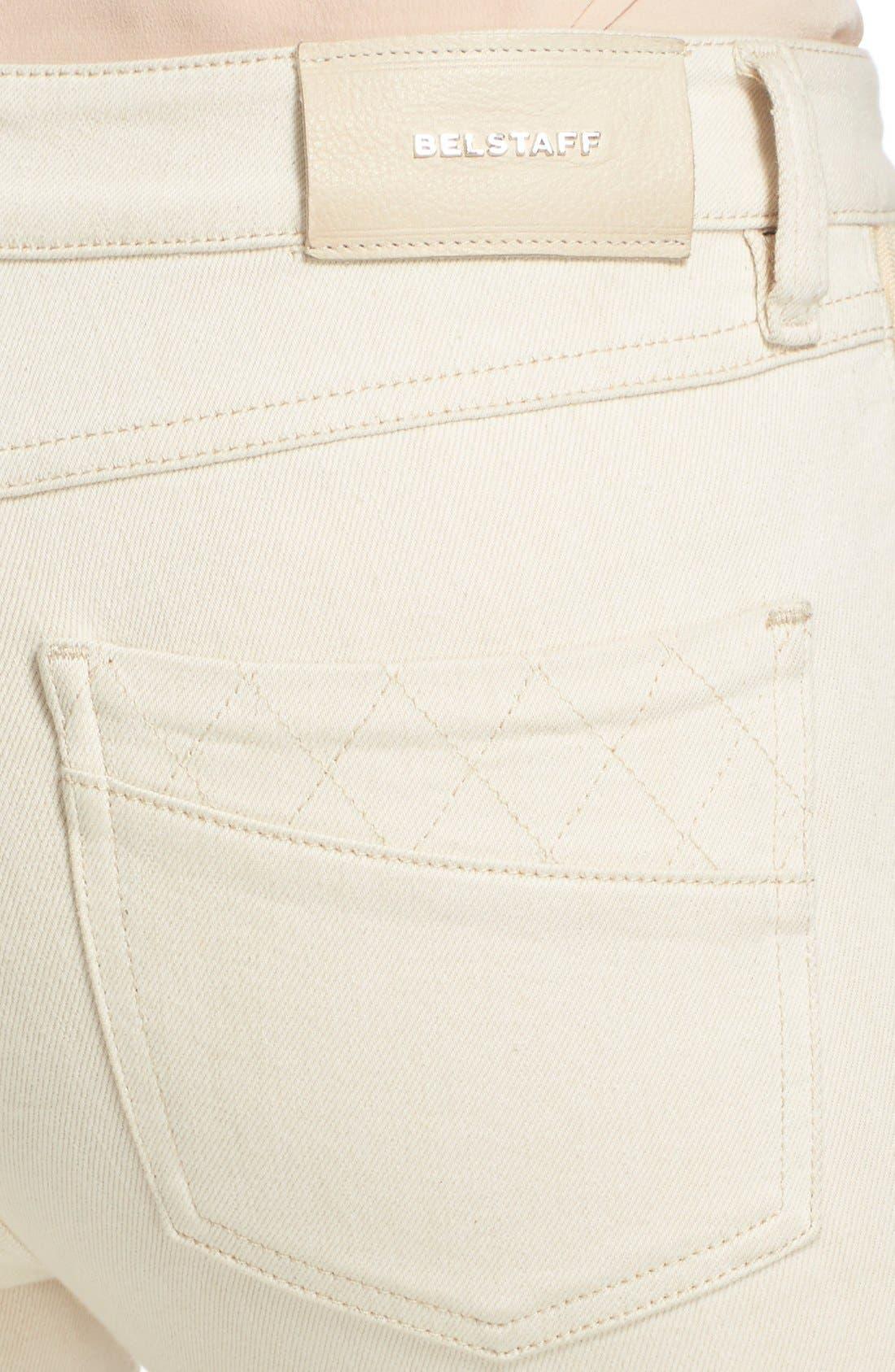 Alternate Image 6  - Belstaff 'Byrds' Rib Trim Skinny Jeans