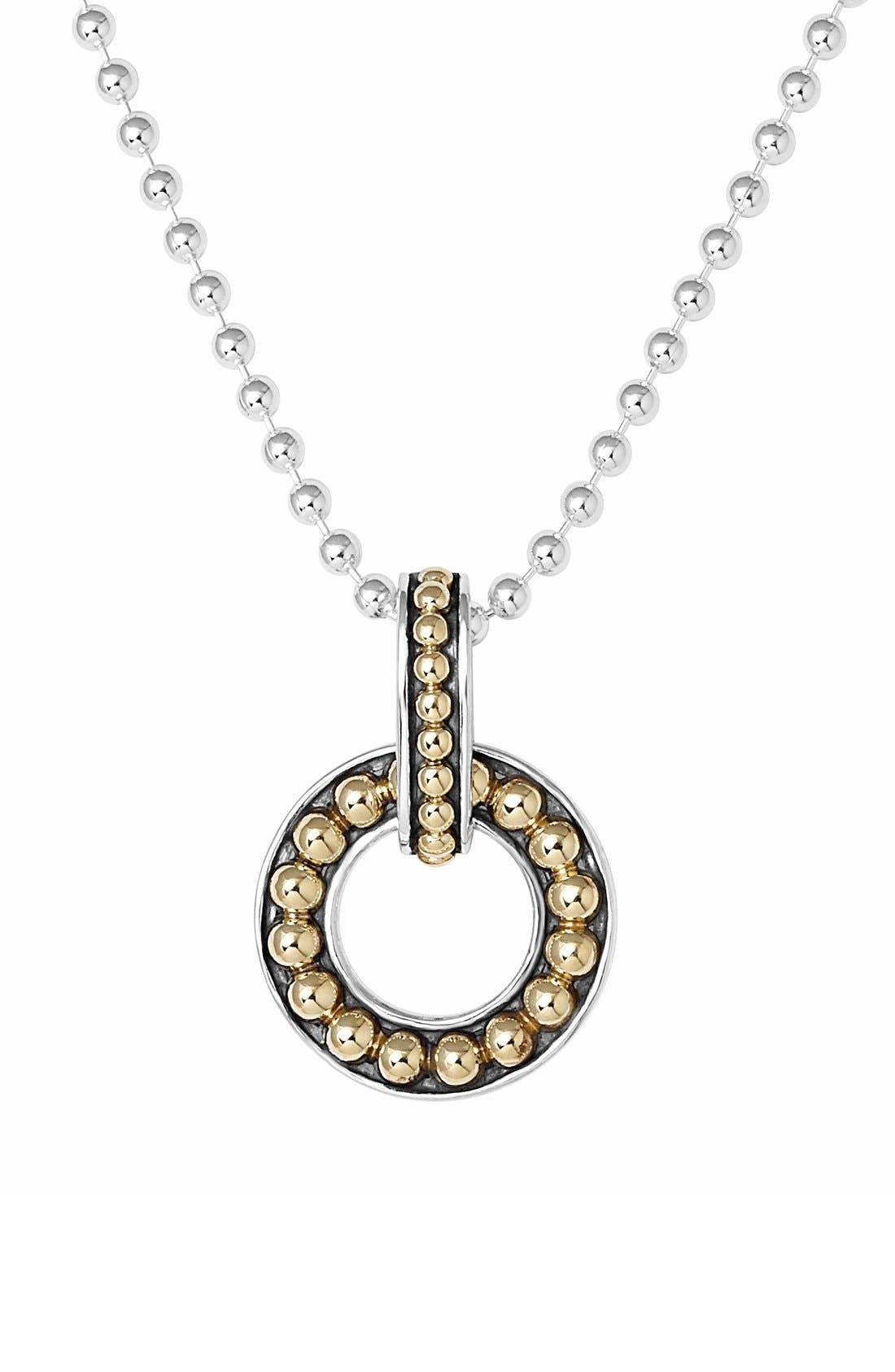 LAGOS 'Enso' Pendant Necklace