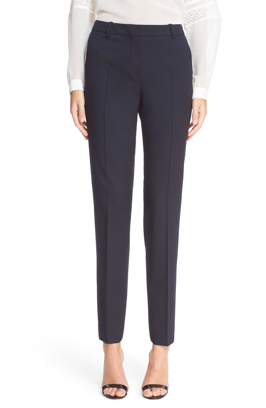 THE KOOPLES Timeless Stretch Wool Trousers